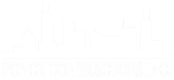 Ponce Contractors Chicago Skyline logo