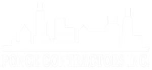 Ponce Contractors Chicago skyline logo